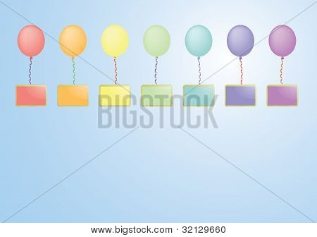 Balloons With Boards