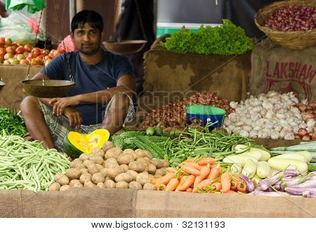 Traditional Asian Open Market