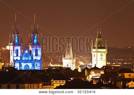 Prague Old Town,czech Republich