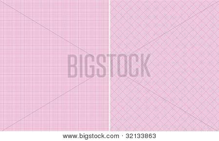 Pink Houndstooth Paper Set