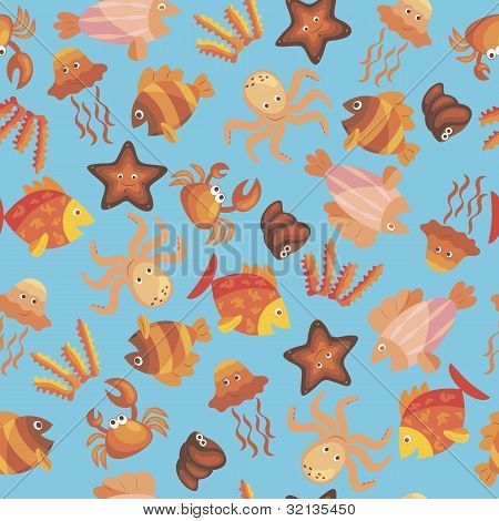 Marine Seamless Pattern.eps