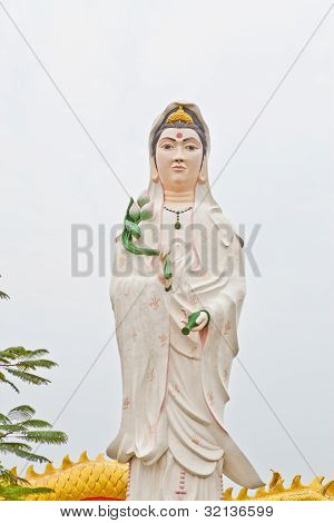 White Quan Yin Pouring From Her Vast