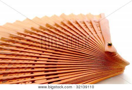Fan Over White