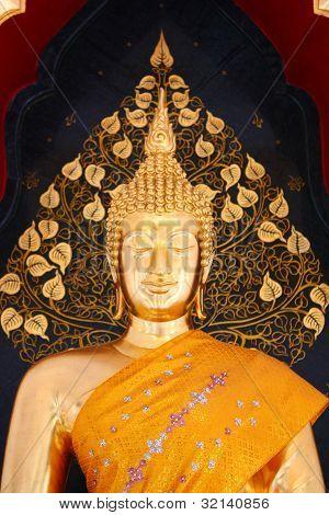 Thai Buddha Golden Statue, Buddha Statue in Thailand