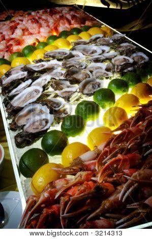 A Succulent Seafood Buffet
