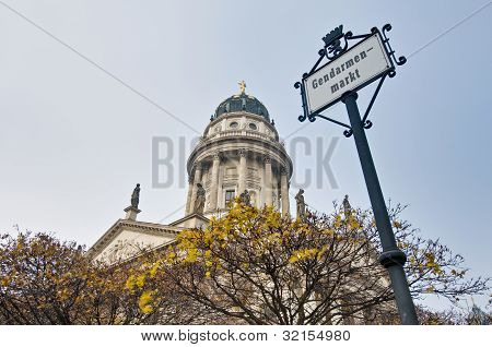 Gendarmenmarkt At Berlin, Germany