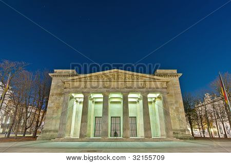 The Neue Wache At Berlin, Germany