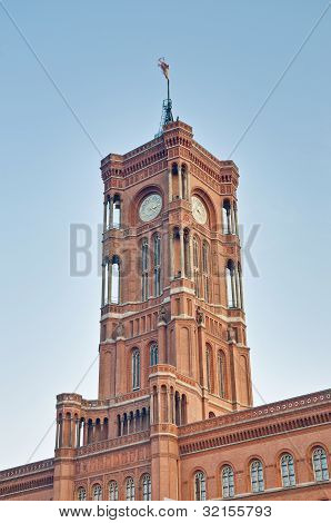 The Rotes Rathaus At Berlin, Germany