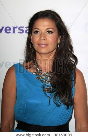 PASADENA - APR 18: Dina Eastwood at the NBCUniversal summer press day held at The Langham Huntington Hotel and Spa on April 18, 2012 in Pasadena, California