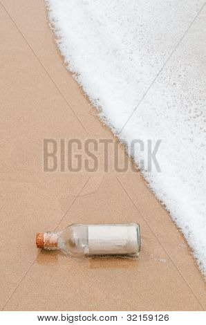 Paper In Glass Bottle
