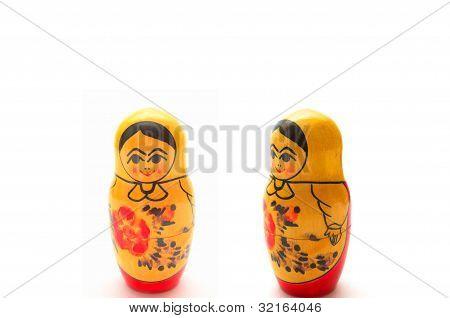 Muñecas de anidación