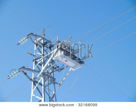 Power line circuit breaker