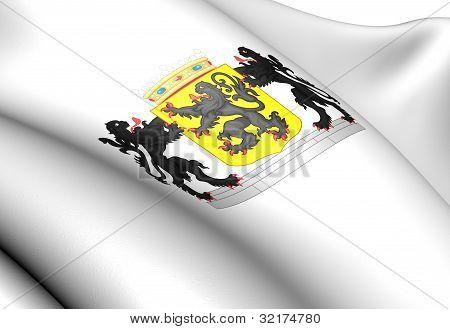 East Flanders Coat Of Arms, Belgium.