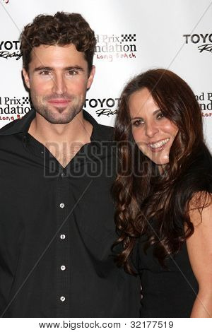 LOS ANGELES - APR 13:  Brody Jenner, Kate del Castillo at the Long Beach Grand Prix Foundation Gala at Westin on April 13, 2012 in Long Beach, CA