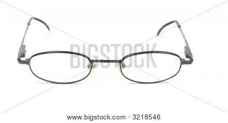 Man Woman Spectacles Isolated