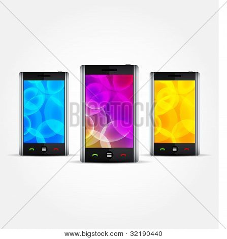 Vector Cellphones