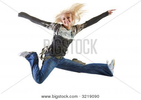 Finish Very High Jump