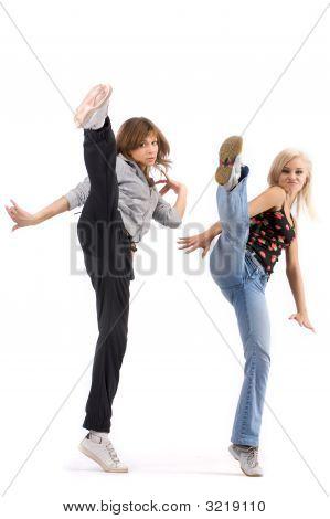 Junge Tänzerinnen