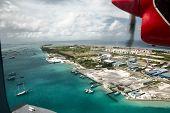 Maldives,  Flight,  Beautiful View Maldives From Height poster