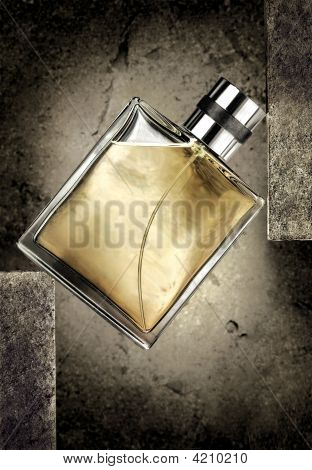 Cologne Bottle Background