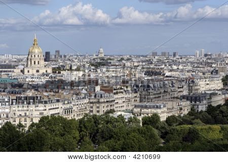 Paris Skyline 1