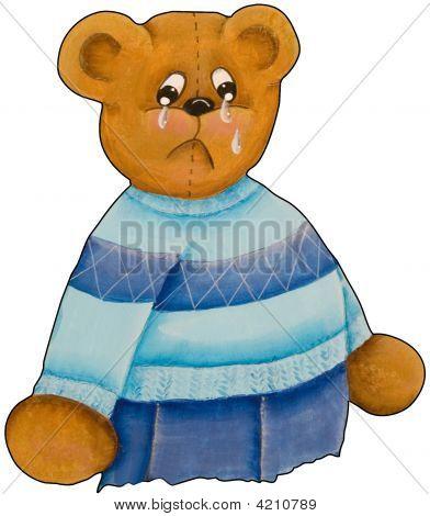 Pouty Teddy Bear