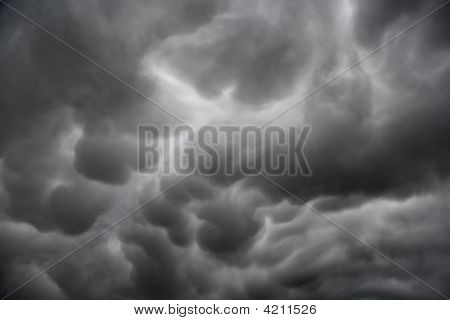 Mammatus Cloud Formation