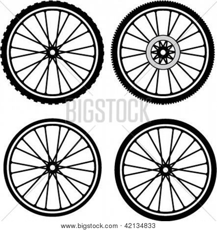 Road and Mountain Bike Wheels and Tires