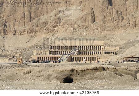 Mortuary Temple Of Hatshepsut In Egypt