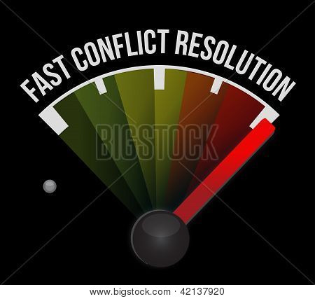 Fast Conflict Resolution