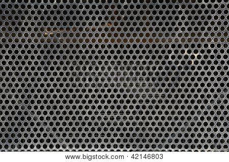 Old Metal Grid