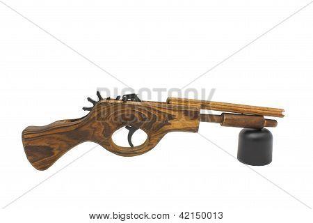 Wooden Catapult Gun