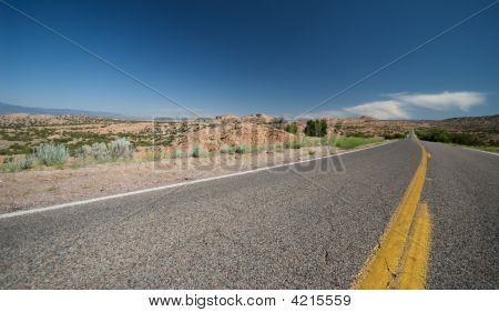 Remote New Mexico Highway