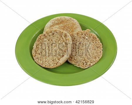 Whole Grain English Muffins