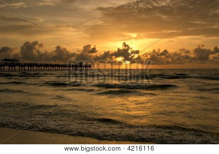 Fishing Pier @ Morning Iii