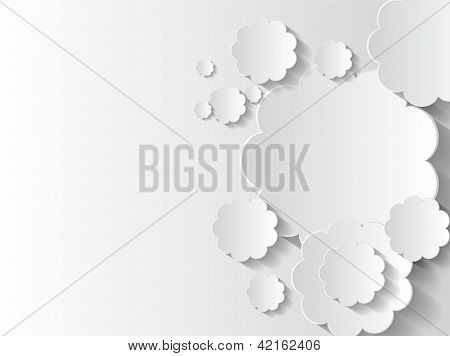 Abstract Sticker Background