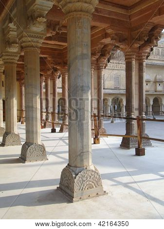 Marble Columns Of The Palace,