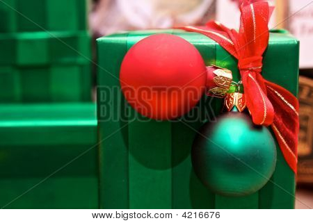 Gift With Ornaments