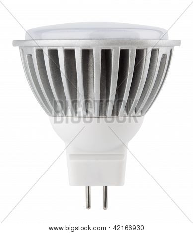 Led Light Bulb Isolated On White