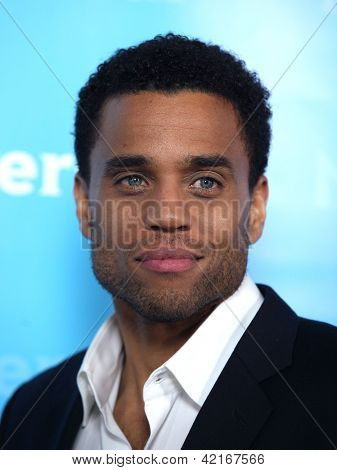 LOS ANGELES - JAN 06:  MICHAEL EALY arriving to TCA Winter Press Tour 2012: NBC Party  on January 06, 2012 in Pasadena, CA
