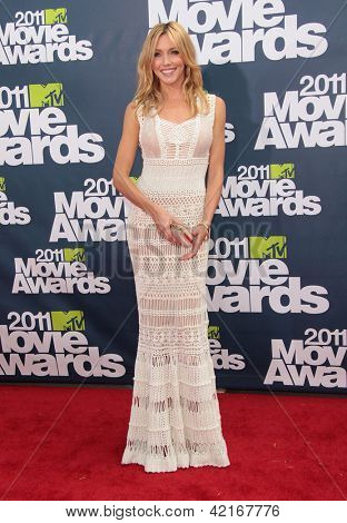 LOS ANGELES - JUN 05:  KATIE CASSIDY arriving to MTV Movie Awards 2011  on June 05, 2011 in Hollywood, CA