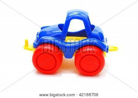 Blue Car Toy