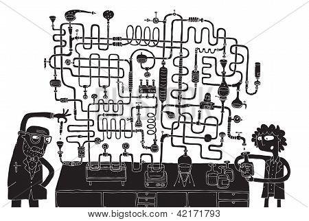 Laboratory Maze Game