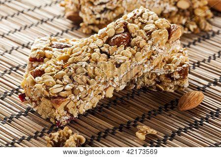 Organic Almond And Raisin Granola Bar