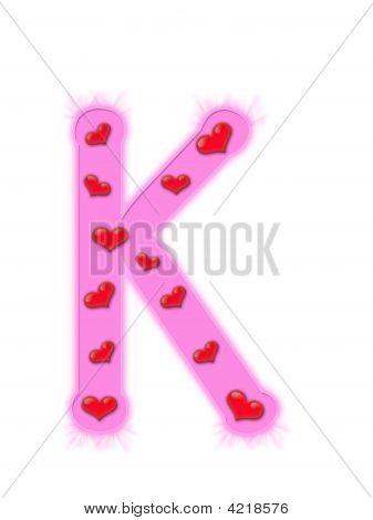 Valentine'S Day Alphabet - K