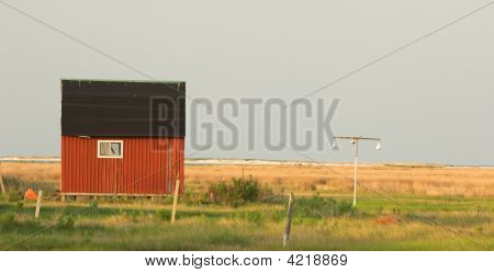 The Little Red Barn