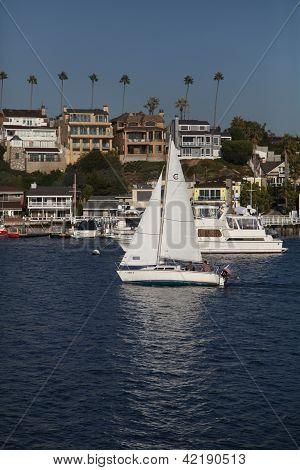 Yacht Newport Beach