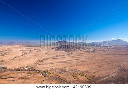 Fuerteventura, View From Tindaya