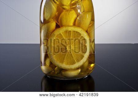 amazing fragrant tangy homemade infused garlic lemon olive oil
