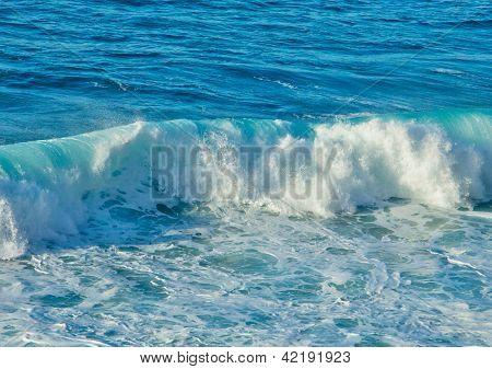 crushing wave